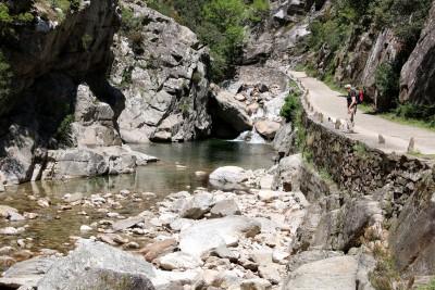 Ruisseau d'Héric dans les gorges 1