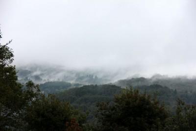 La montagne s'évapore au-dessus du lac du Laouzas (archives)