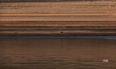 Le lac du Laouzas en basses eaux 11