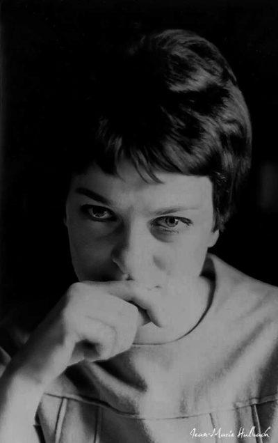 Geneviève 1964 (restauration tirage papier argentique Rolleiflex f/2,8)