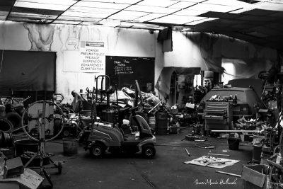 C'était un garage...