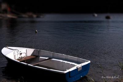 Lac du Laouzas. Barque au rivage (2)