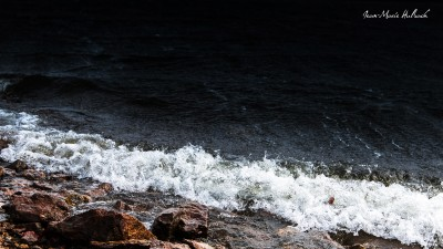 Lac du Laouzas. Jour de vent 5