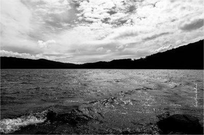 Lac du Laouzas. Jour de vent 1
