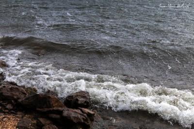 Lac du Laouzas. Jour de vent 3