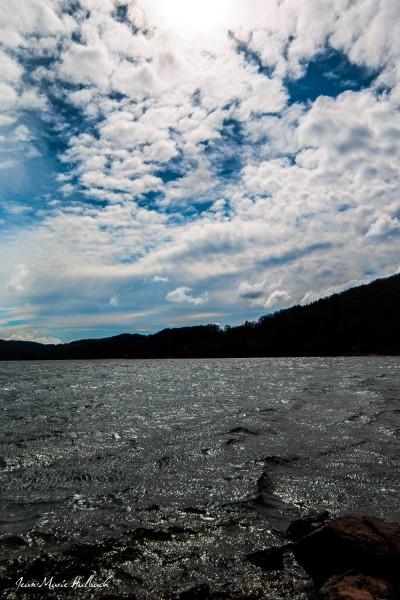 Lac du Laouzas. Jour de vent 2