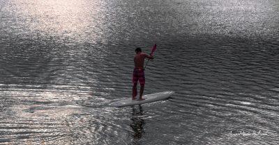 Lac du Laouzas. Solitude