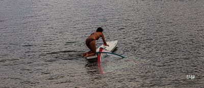 Lac du Laouzas. Recherche d'équilibre