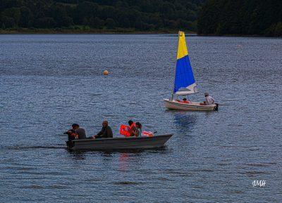 Lac du Laouzas. Croisement