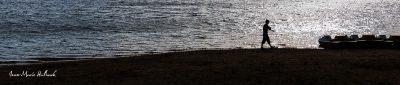 Lac du Laouzas. Silhouette 1