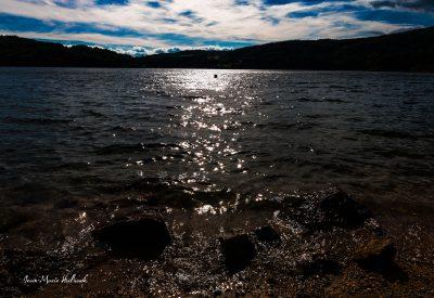 Lac du Laouzas. Soir