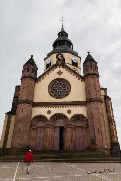 Senones en Salm. Visite à l'église abbatiale Saint Gondelbert