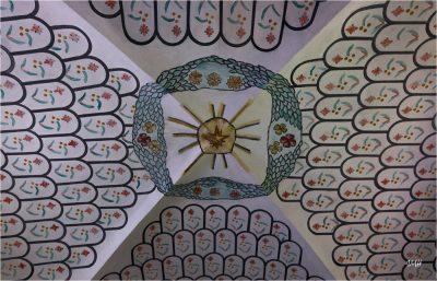 Boudin : détails d'une voûte de la chapelle