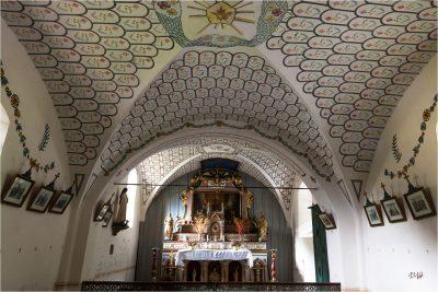 Boudin : intérieur de la chapelle