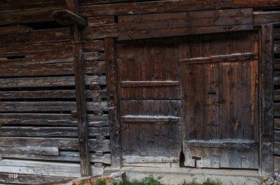 Boudin : porte de grange