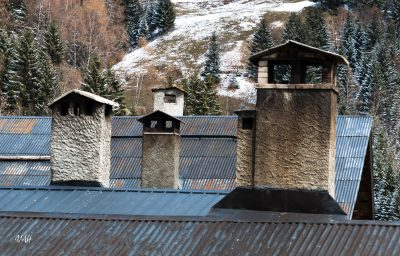 Boudin : cheminées