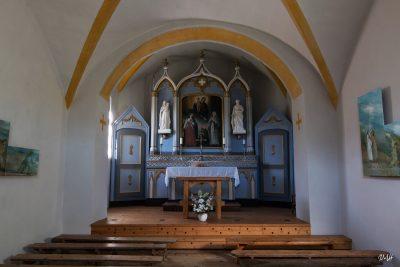 Beaufort-sur-Doron : chapelle des Curtillets, intérieur