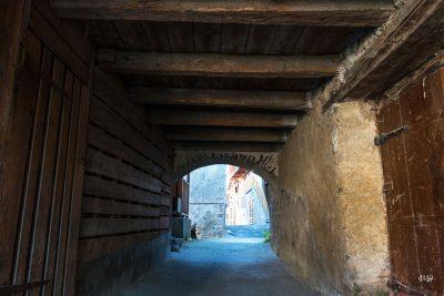Beaufort-sur-Doron : passage