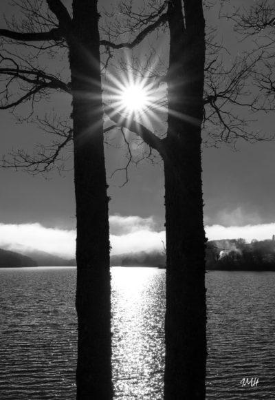 Lac du Laouzas, soir de janvier 2018 (3)