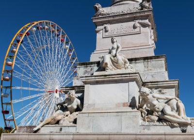 Bordeaux. Monument des Girondins, place des Quinconces