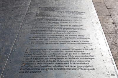 Bordeaux. Utopie face au Palais de Justice
