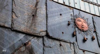 Lignes. La Salvetat-sur-Agoût, pan d'ardoises 2