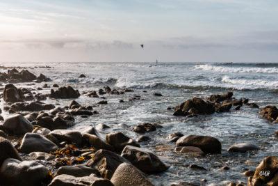 Bretagne en baie d'Audierne. Marée montante (2)