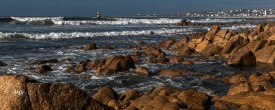 Bretagne en baie d'Audierne. Marée montante sous Plouhinec 3