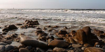 Bretagne en baie d'Audierne. Marée montante sous Plouhinec 6
