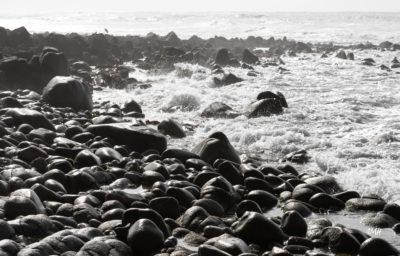 Bretagne en baie d'Audierne. Marée montante (4)