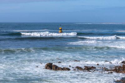 Bretagne en baie d'Audierne. Marée montante (1)